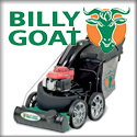 Billy Goat Debris Line, Paving Line, Renovation Line, and Mowers