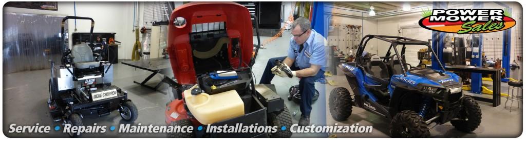 Power Mower Sales Lawn Equipment Service, Repair, and Maintenance