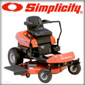 Simplicity Chippers, Shredders, Lawn Vacuums, Leaf Blowers, Mowers, Snowthrowers, Tillers, and Tractors