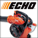 Echo Brushcutters, Chainsaws, Augers, Engine Drills, Hedge Trimmers, Power Blowers, Power Edgers, Power Pruners, Pumps, Shred 'N' Vacs, Sprayers, Tillers/Cultivators, and Trimmers