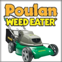 Poulan/Weed Eater Blowers, Chainsaws, Edgers, Hedge Trimmers, Mowers, Tillers, Trimmers, and Tractors